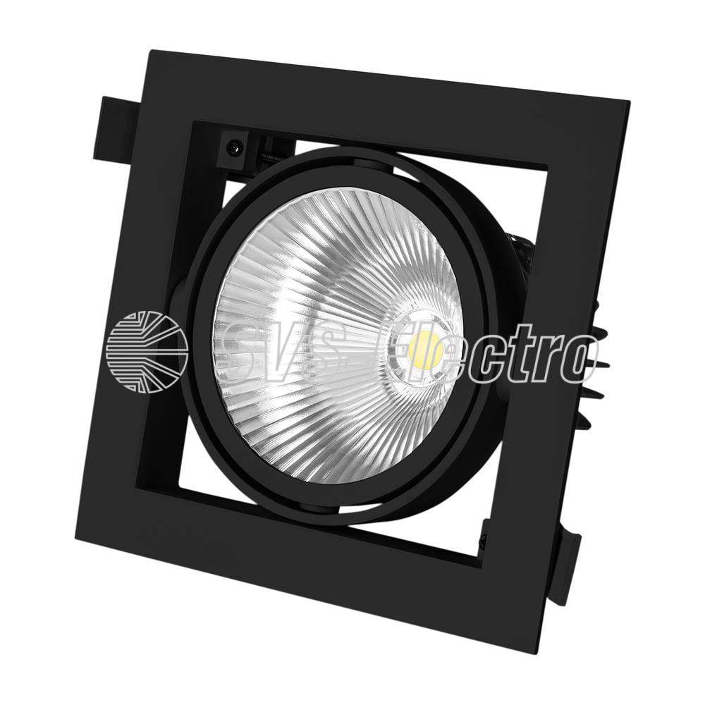 Светодиодный карданный светильник SVS СUBE 37