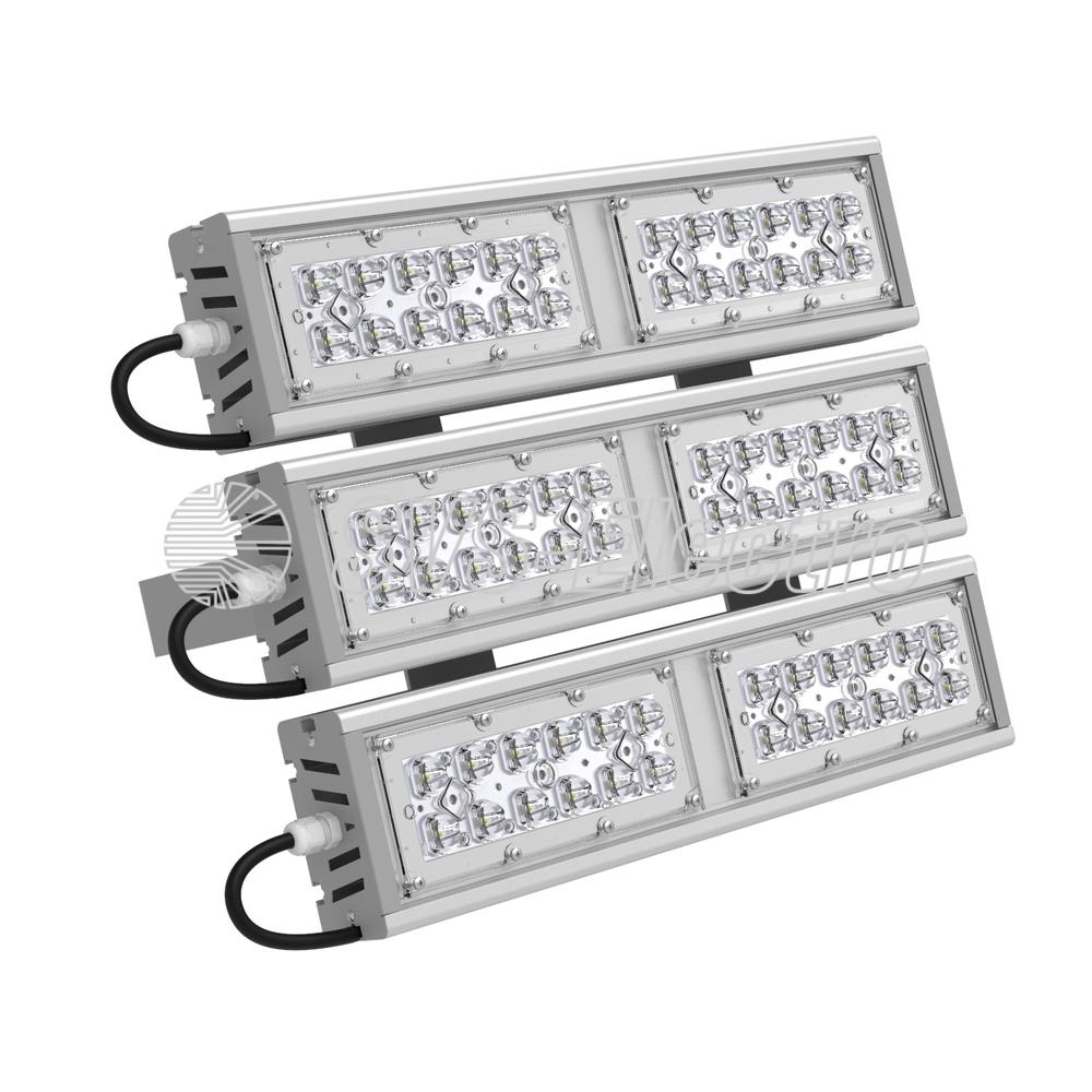 Светодиодный промышленный светильник SVT-STR-M-53W-TRIO