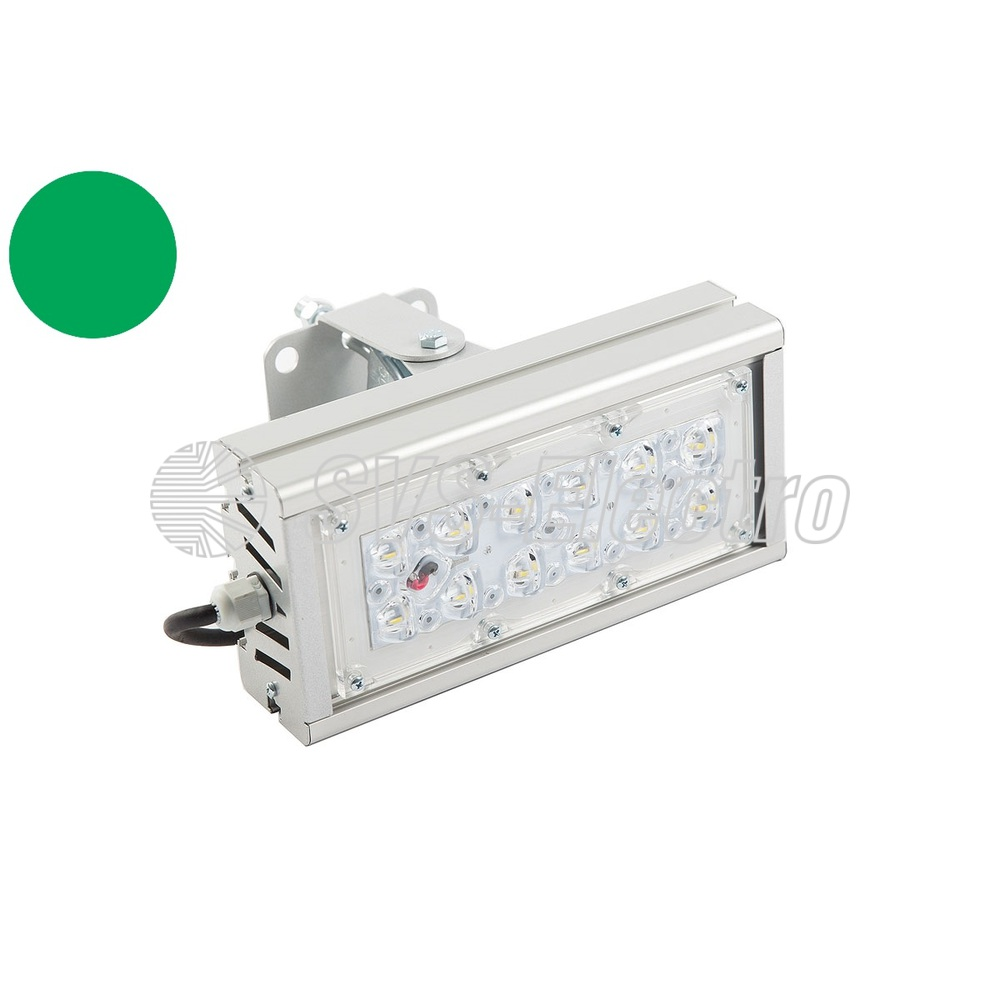 Архитектурный светильник SVT-STR-M-30W-GREEN
