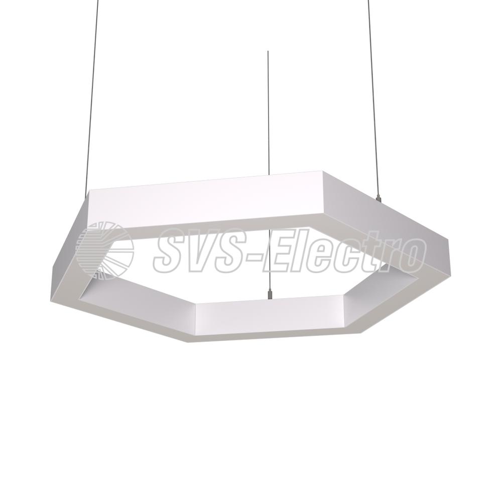 Cветодиодный дизайнерский светильник SVS H-Hexagon (белый)
