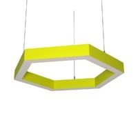 Cветодиодный дизайнерский светильник SVS H-Hexagon (желтый)