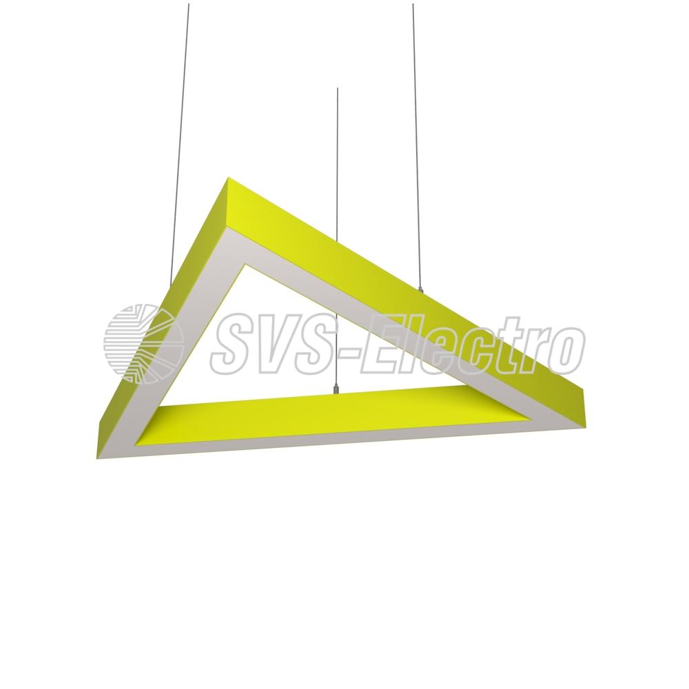 Cветодиодный дизайнерский светильник SVS H-Triangle (желтый)