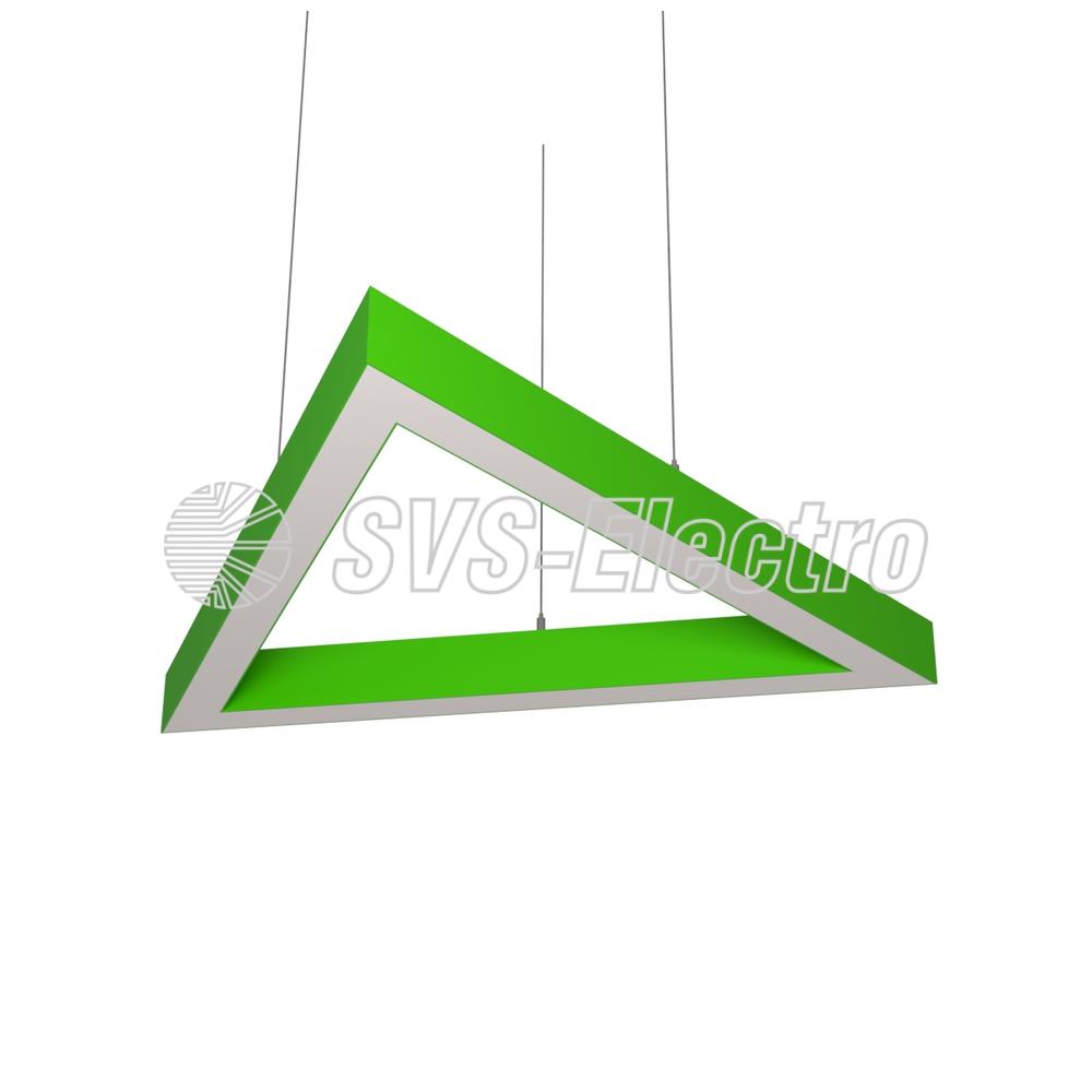 Cветодиодный дизайнерский светильник SVS H-Triangle (зеленый)