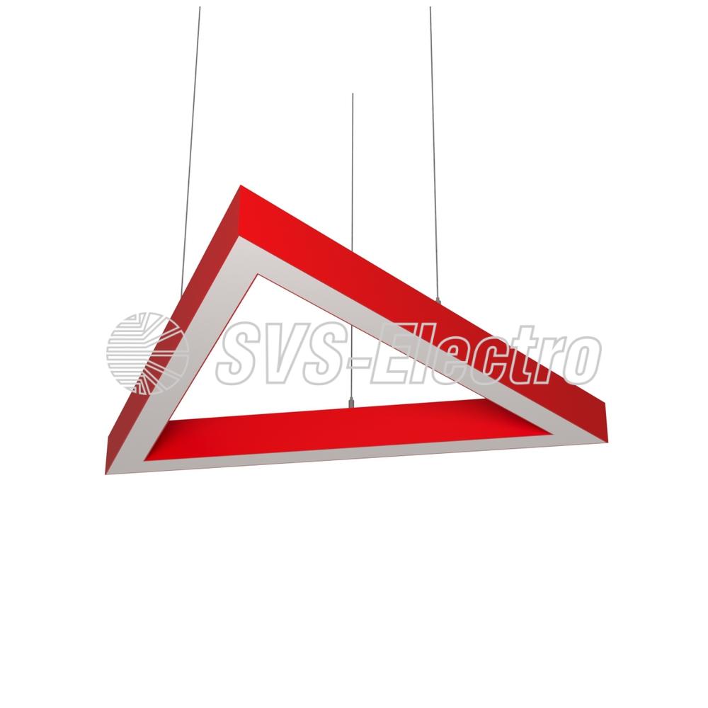 Cветодиодный дизайнерский светильник SVS H-Triangle (красный)
