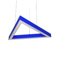 Cветодиодный дизайнерский светильник SVS H-Triangle (синий)