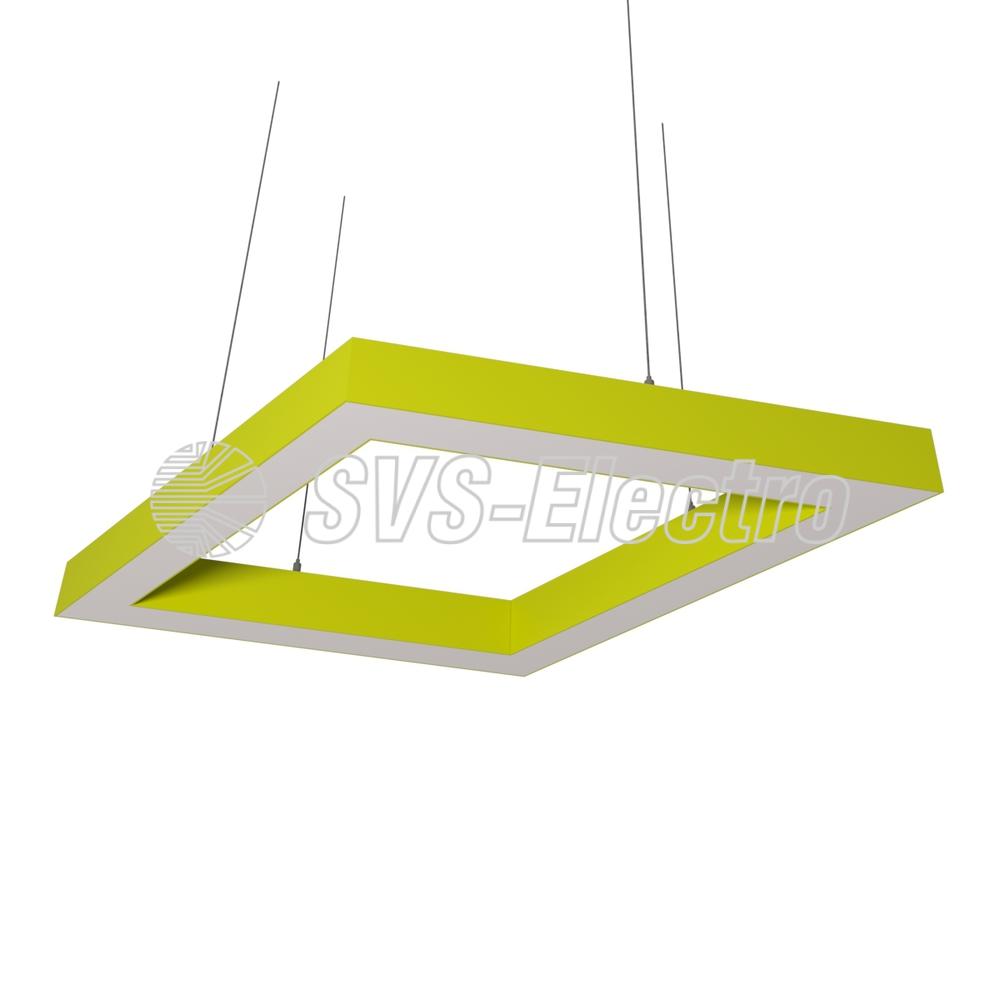Cветодиодный дизайнерский светильник SVS Rhomb 5070 (желтый)