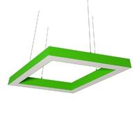Cветодиодный дизайнерский светильник SVS Rhomb 5070 (зеленый)