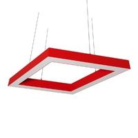 Cветодиодный дизайнерский светильник SVS Rhomb 5070 (красный)