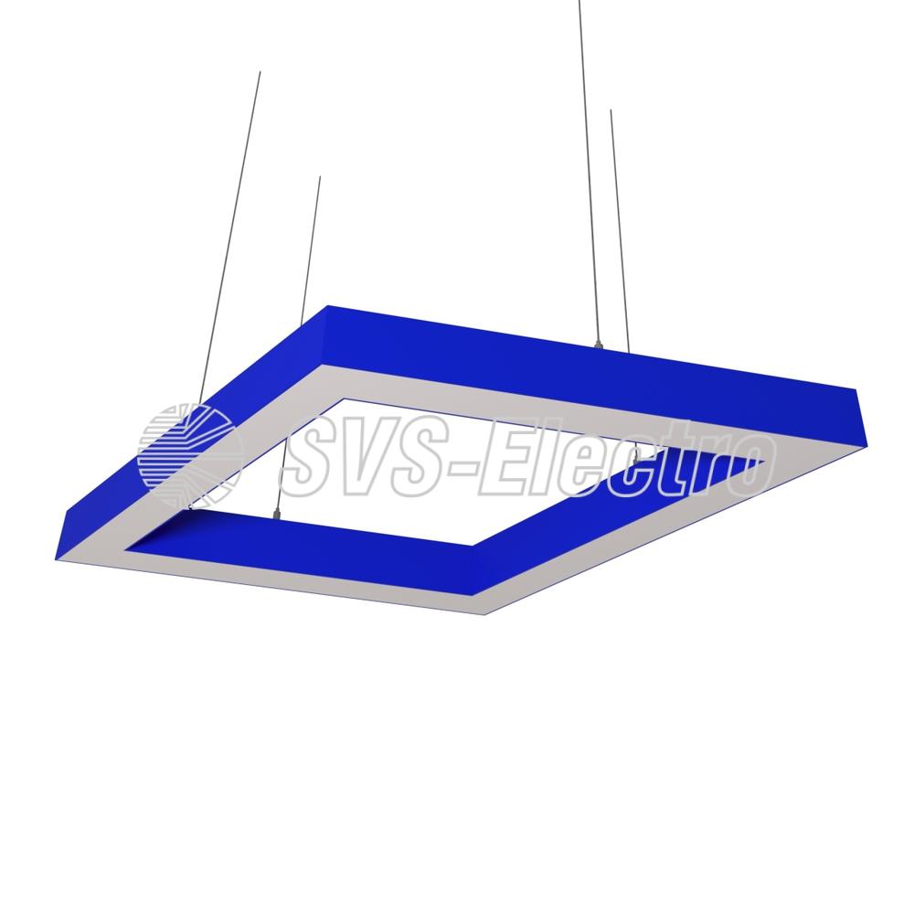 Cветодиодный дизайнерский светильник SVS Rhomb 5070 (синий)