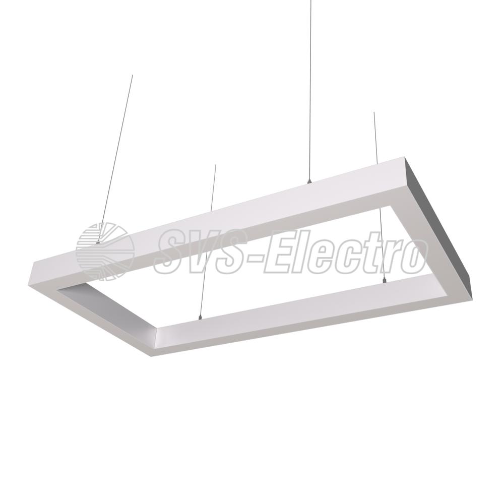 Cветодиодный дизайнерский светильник SVS Square 5070 (белый)