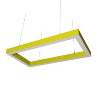 Cветодиодный дизайнерский светильник SVS Square 5070 (желтый)