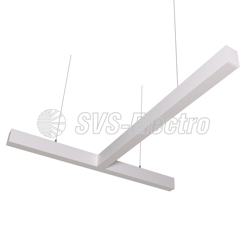 Cветодиодный дизайнерский светильник SVS T-Type (белый)