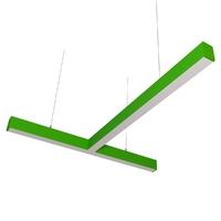 Cветодиодный дизайнерский светильник SVS T-Type (зеленый)