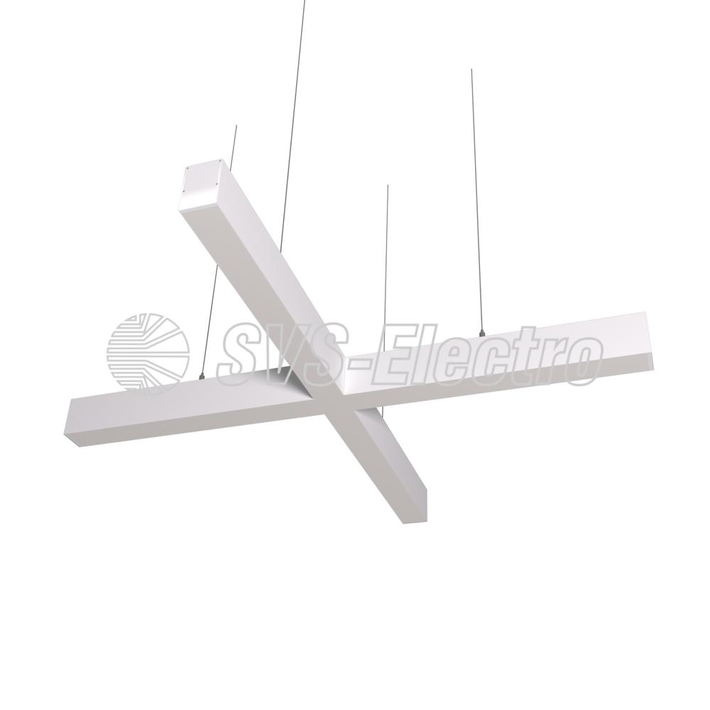Cветодиодный дизайнерский светильник SVS X-Type (белый)