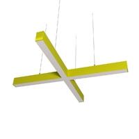 Cветодиодный дизайнерский светильник SVS X-Type (желтый)