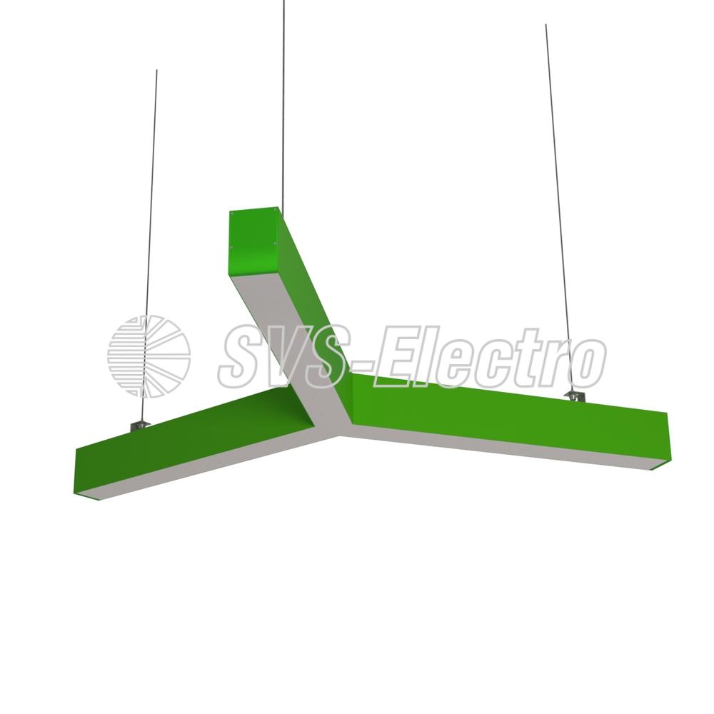 Cветодиодный дизайнерский светильник SVS Y-Type (зеленый)