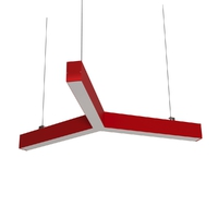 Cветодиодный дизайнерский светильник SVS Y-Type (красный)
