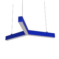 Cветодиодный дизайнерский светильник SVS Y-Type (синий)