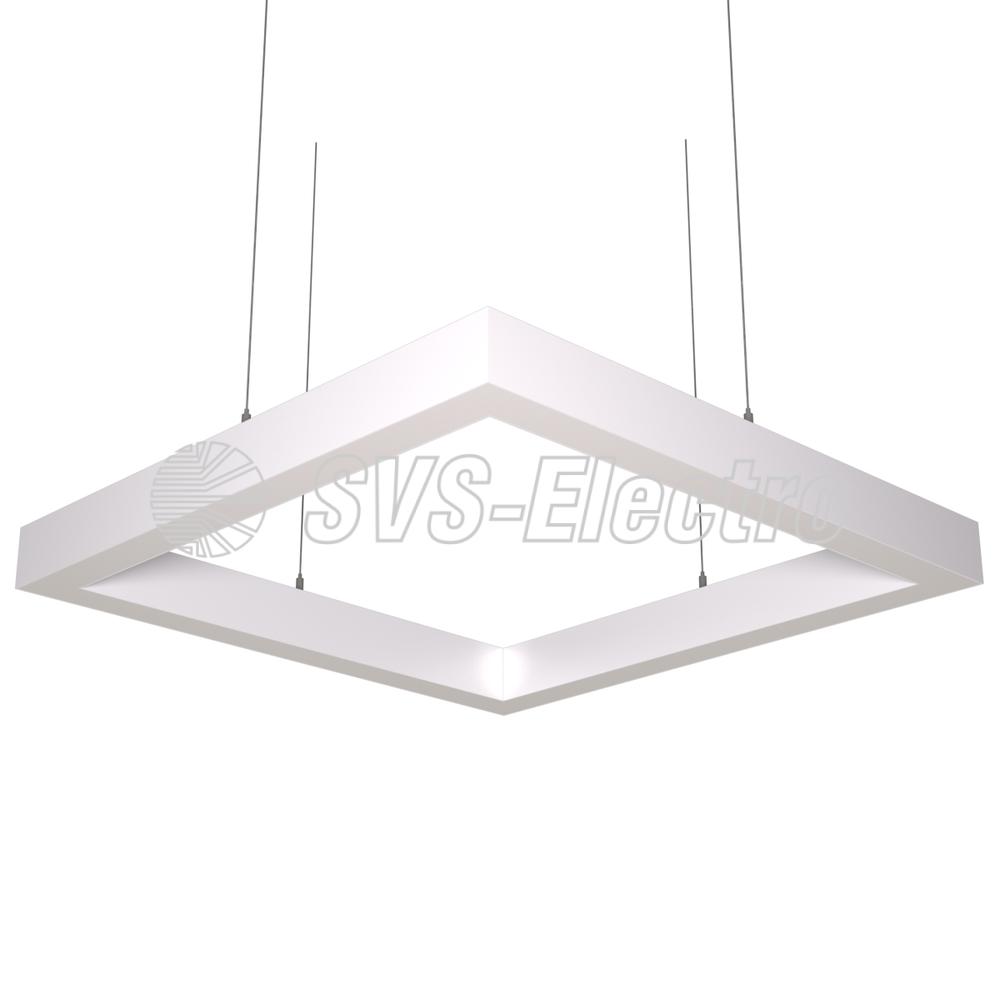 Cветодиодный дизайнерский светильник SVS Н-Box (белый)
