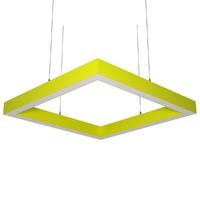 Cветодиодный дизайнерский светильник SVS Н-Box (желтый)