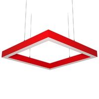Cветодиодный дизайнерский светильник SVS Н-Box (красный)
