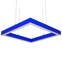 Cветодиодный дизайнерский светильник SVS Н-Box (синий)
