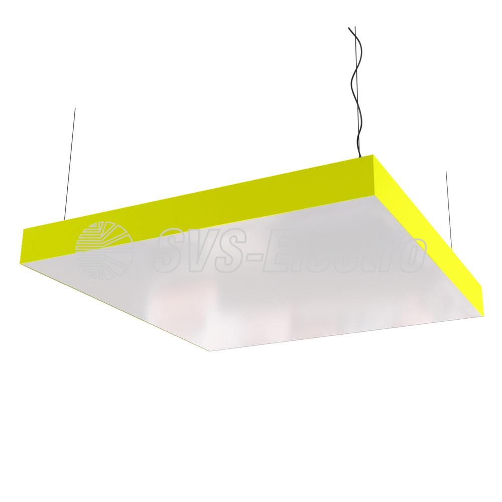 Дизайнерский светильник SVS Box (желтый)