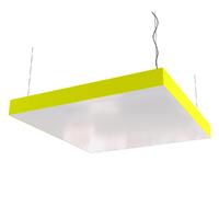 Cветодиодный дизайнерский светильник SVS Box (желтый)