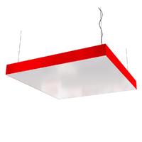 Cветодиодный дизайнерский светильник SVS Box (красный)