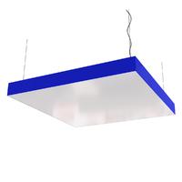 Cветодиодный светильник  дизайнерский  SVS Box (синий)