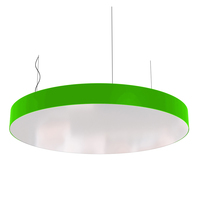 Cветодиодный дизайнерский светильник SVS Ring (зеленый)