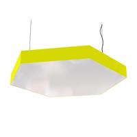 Cветодиодный дизайнерский светильник SVS Hexagon (желтый)