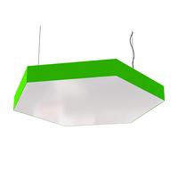 Cветодиодный дизайнерский светильник SVS Hexagon (зеленый)