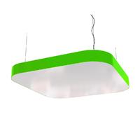 Cветодиодный дизайнерский светильник SVS Superellipse (зеленый)
