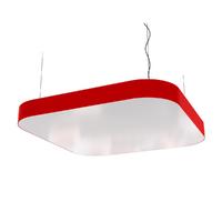 Cветодиодный дизайнерский светильник SVS Superellipse (красный)