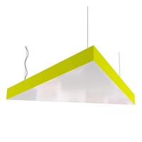 Cветодиодный дизайнерский светильник SVS Triangle (желтый)
