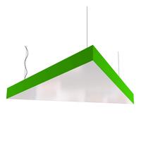 Cветодиодный дизайнерский светильник SVS Triangle (зеленый)