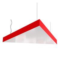 Cветодиодный дизайнерский светильник SVS Triangle (красный)