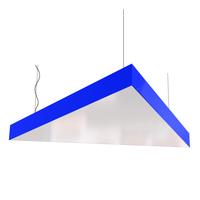 Cветодиодный дизайнерский светильник SVS Triangle (синий)