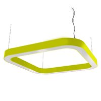 Cветодиодный дизайнерский светильник SVS H-Superellipse (желтый)