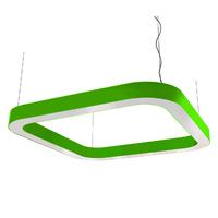 Cветодиодный дизайнерский светильник SVS H-Superellipse (зеленый)