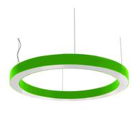 Cветодиодный дизайнерский светильник SVS H-Ring (зеленый)