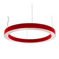 Cветодиодный дизайнерский светильник SVS H-Ring (красный)