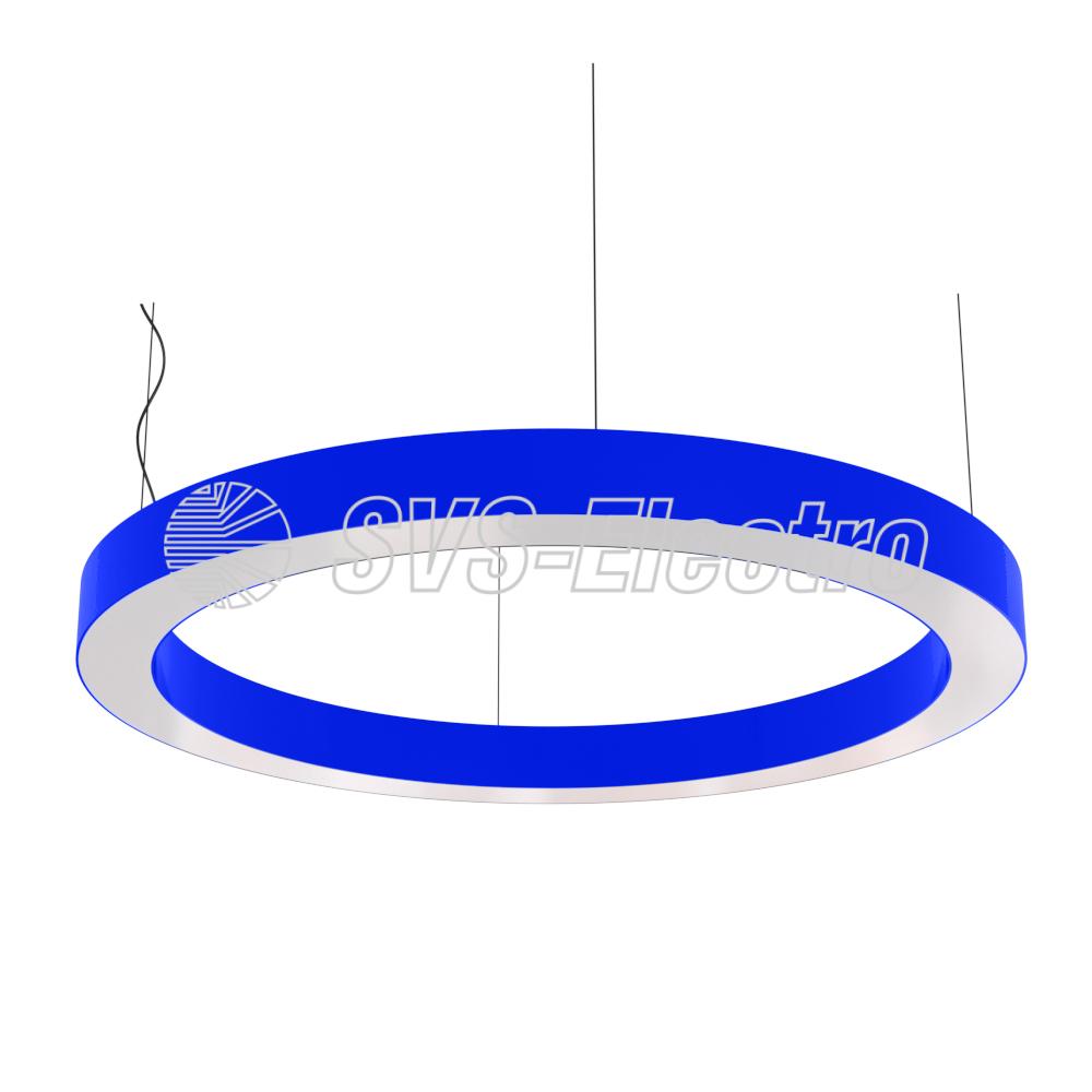 Cветодиодный дизайнерский светильник SVS H-Ring (синий)