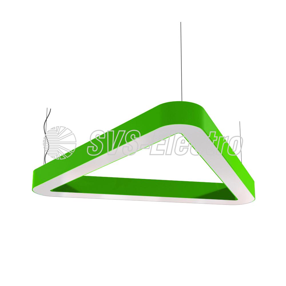 Cветодиодный дизайнерский светильник SVS H-Relo (зеленый)