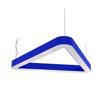 Cветодиодный дизайнерский светильник SVS H-Relo (синий)