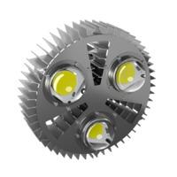 Светодиодный светильник SVS ПРОФИ v3.0-200 Экстра +60С (3 линзы)
