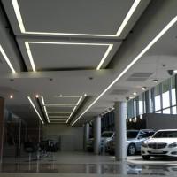 Светильники для автосалона